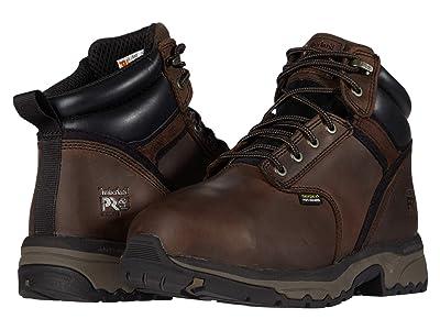 Timberland PRO 6 Jigsaw Steel Safety Toe Internal Met Guard (Brown) Men
