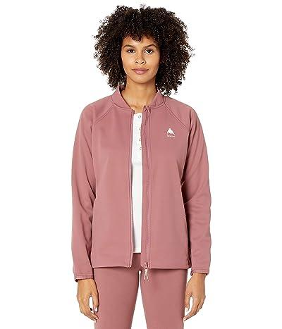 Burton Crown Weatherproof Track Jacket (Rose Brown) Women