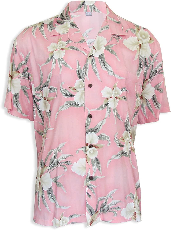 Two Palms Men's Retro Orchid Shirt
