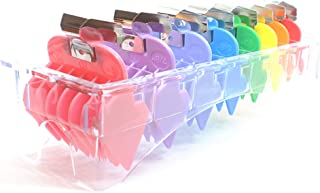 Style K Professional Universal Rainbow Hair Trimmer/Clipper Cutting Guides/Combs/Coded 1/8