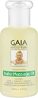 Gaia Natural Baby Massage Oil 125mL