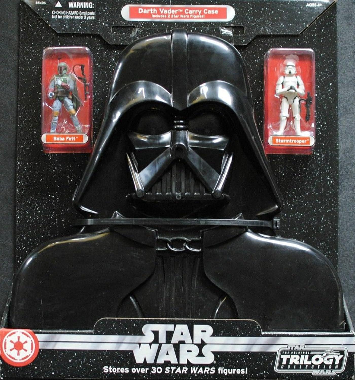 Star Wars Darth Vader Carry Case W  Boba Fett & Stormtrooper