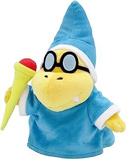 "Sanei Super Mario All Star Collection AC39 Magikoopa/Kamek Stuffed Plush, 8"""