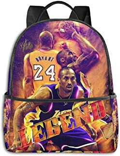 Thankyou Kobe Casual Backpack Lightweight School Daypack Laptop Multipurpose Shoulders Bag