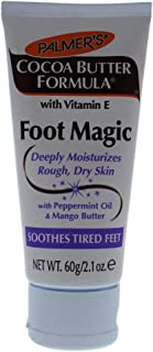 Palmer's Cocoa Butter with Vitamin E, Foot Magic Moisturizing Cream, 2.1 Ounce
