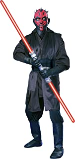 Super Deluxe Adult Darth Maul Fancy Dress Costume Small