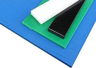 Plaat van PE-HD, 1000 x 495 x 20 mm zwart gesneden PE alt-intech®