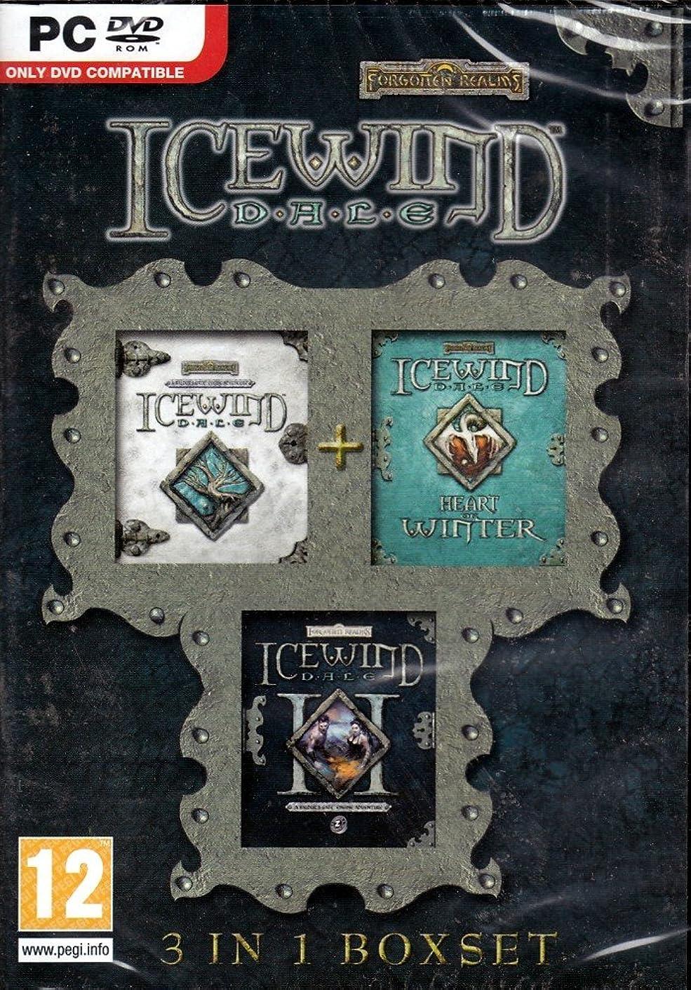 縫い目グローガジュマルIcewind Dale 3 in 1 Boxset (Icewind Dale / Icewind Dale: Heart of Winter / Icewind Dale II) (輸入版)