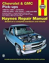 Chevrolet & GMC full-size petrol pick-ups (1988-1998) Haynes Repair Manual (USA)