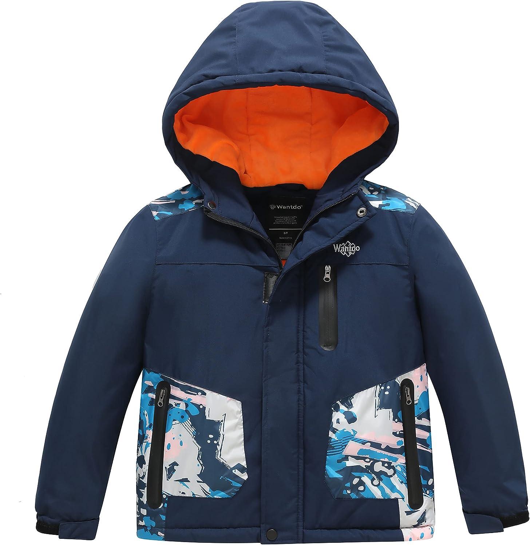 Wantdo Boy's Waterproof Skiing Snowboard Ranking TOP19 Jacket Jacksonville Mall Insulated