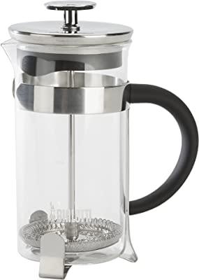 Bialetti, 06766, Stainless Steel Coffee Press , 3 cups , 12 oz , tea, coffee, coldbrew, silver