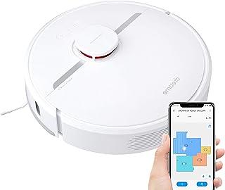 Dreame D9 Robot Aspirador, 3000 Pa Múltiples Funciones de configuración de mapas, navegación LDS, Aspiradora Robótica de S...