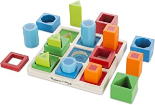 Melissa & Doug 582 Shape Sequence Sorting Set,Multi Color