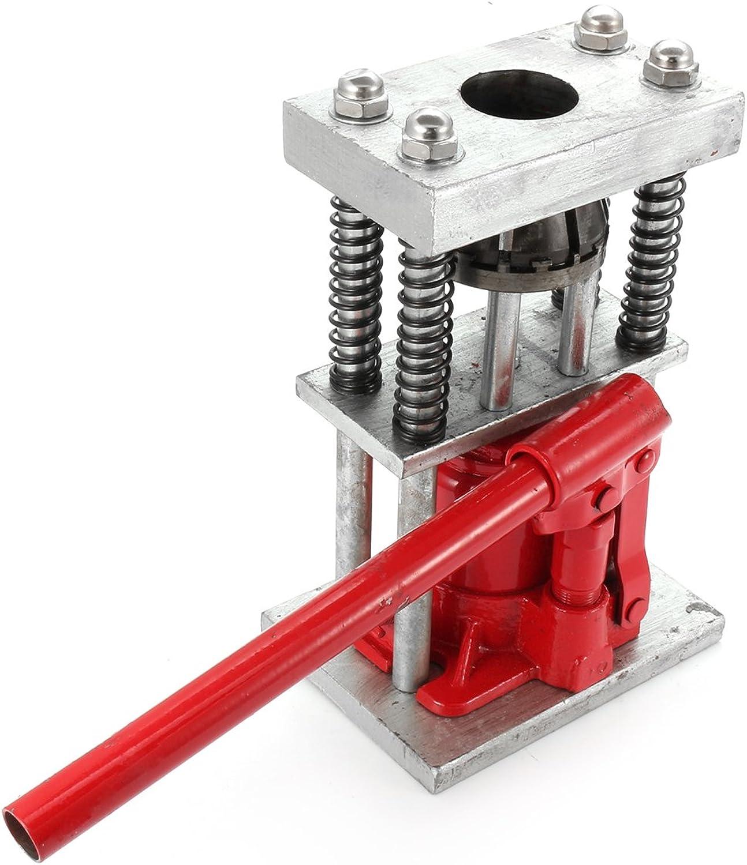 US WarehouseManual Benchtop Hydraulic Bottle Jack Hose Crimper Hydraulic Hose Crimper 2T