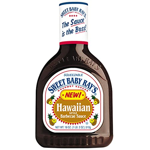 Sweet Baby Rays, BBQ Sauces, 18-Ounce Bottle (Pack of 3)