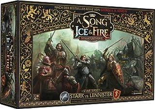 CMON CMN0055 Asmodee A Song of Ice & Fire – stark vs. Lannister startset, grundspel, bordsskiva, tyska