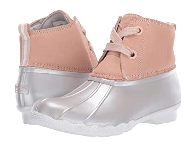 Sperry Saltwater 2-Eye Nubuck (Rose/Grey) Women