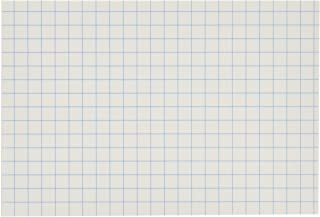 Post-it Super Sticky Notes, 2x Sticking Power, 3.9 in x 5.8 in, White with Blue Grid, 6 Pads/Pack, 50 Sheets/Pad (660-SSGRID)