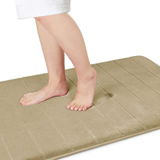 Yimobra Memory Foam Bath Mat Large Size 36.2 x 24 Inches, Soft and Comfortable, Super Water Absorption, Non-Slip, Thick, M...