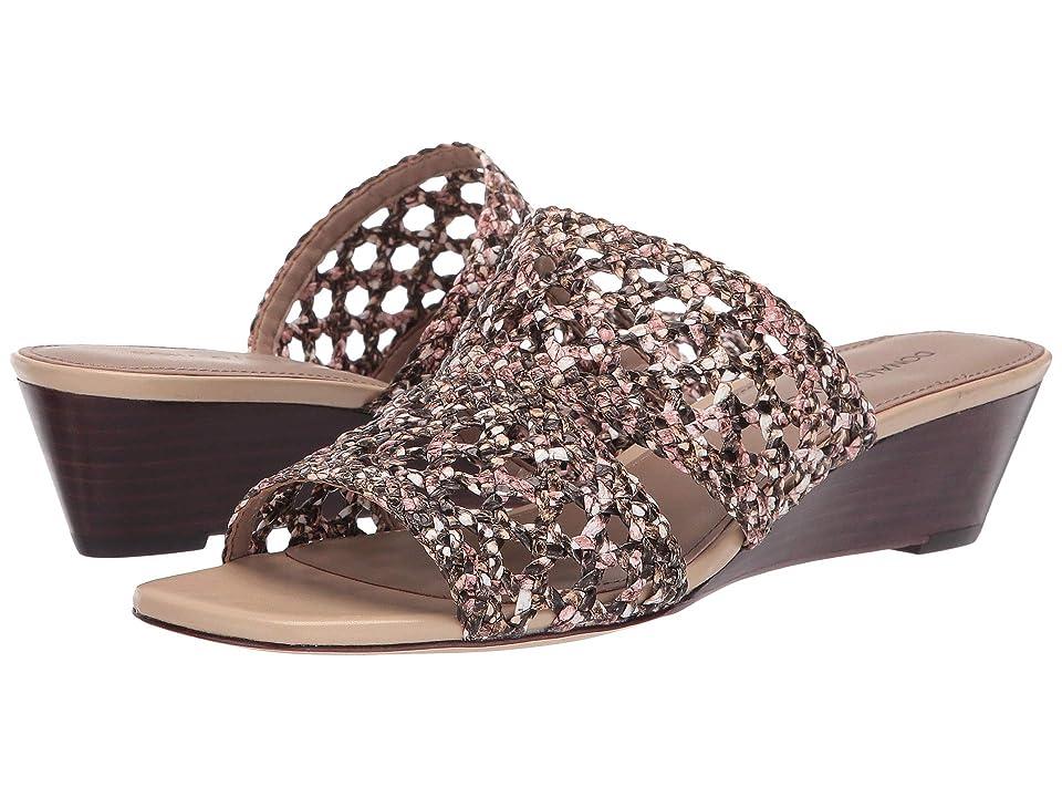 a91231978856 Donald J Pliner Albi (Blush Snake Print) Women s Wedge Shoes