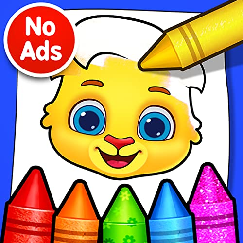 Coloring Games - Coloring Book, Painting, Glow Draw, Color by Numbers
