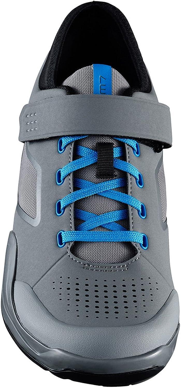 SHIMANO SHAM7 Mountain Bike shoes  Men\'s Grey blueee; 39.0