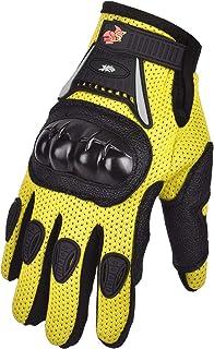 Street Bike Full Finger Motorcycle Gloves 09 (Youth_S,...