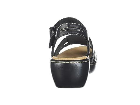 Beige Cuir Delana Clarks Leatherdark fournisseur Plus Noir Nila grand n0tfqTnwx8