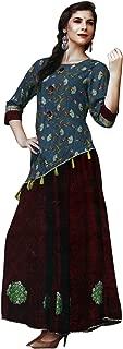 Kurtis for Women Cotton Tunic Top Indian Kurta Dress