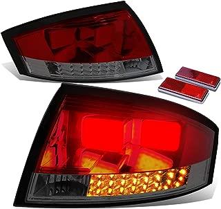 For Audi TT MK1 Typ 8N Pair of Red Housing & Smoked Lens 3D LED Rear Tail Brake Lights