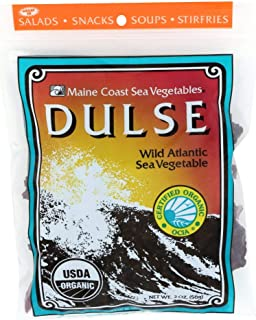 Maine Coast Sea Vegetables Dulse Bag Organic, 2 oz