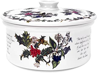 Portmeirion Holly and Ivy Covered Casserole