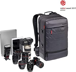 Manfrotto Lifestyle MB MN-BP-MV-50 Urban Manfrotto Manhattan Camera Backpack Mover-50 for DSLR/CSC, Gray