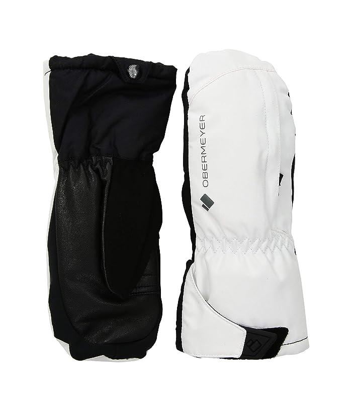 Obermeyer Kids Molten Mitten (Little Kids/Big Kids) (White) Extreme Cold Weather Gloves