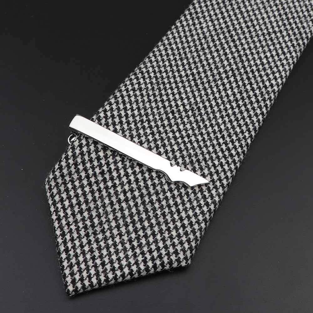Tie Pins Tie Male Formal Clothes Business Korean Bridegroom Casual self-Cultivation Style European and American Fashion Mature Clips