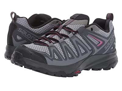 Salomon X Crest (Alloy/Ebony/Malaga) Women