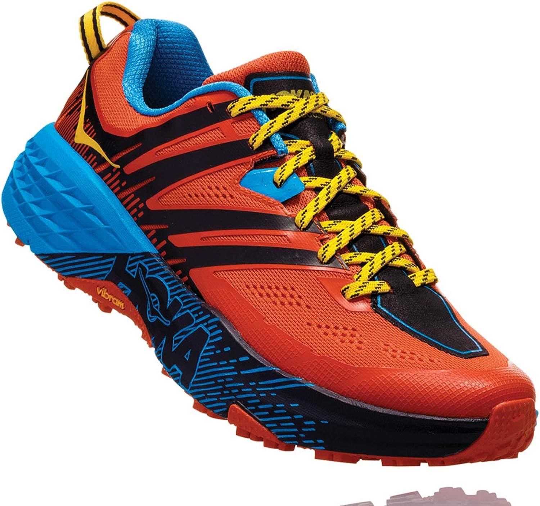Hoka One One SPEEDGOAT 3 Men   1099733NSOR Trailrunning   nasturium spicy Orange, Gre US 14 - EUR 49 1 3 - CM 32 - UK 13.5