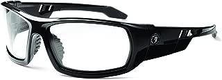 Ergodyne Skullerz Odin Anti-Fog Safety Glasses - Black Frame, Clear Lens