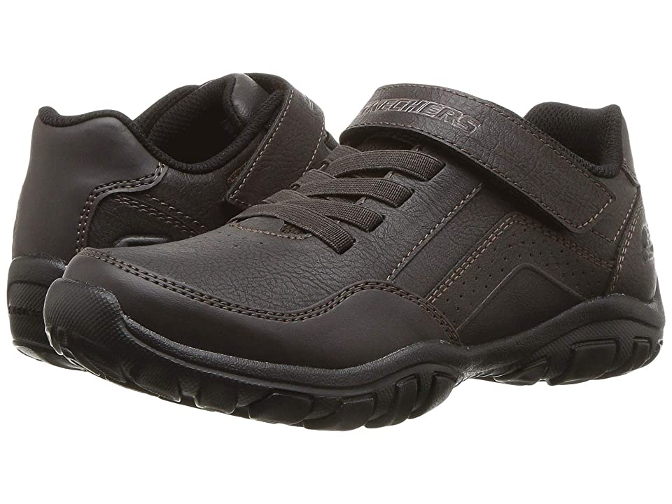 SKECHERS KIDS Grambler II Zellax 96322L (Little Kid/Big Kid) (Chocolate) Boy