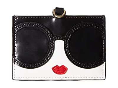 Alice + Olivia Julie Staceface Lanyard ID Holder (Multi) Wallet