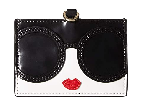 Alice + Olivia Julie Staceface Lanyard ID Holder