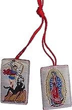 Saint Michael Archangel Angel Red Scapular Escapulario De San Miguel Rojo