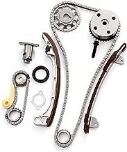 SCITOO Timing Chain Kit fits for Pontiac VIBE 2.0L 2.4L DOHC 16v 1AZFE 2AZFE 2001-2011 Toyota CAMRY COROLLA XRS HIGHLANDER RAV4 Scion tc xb