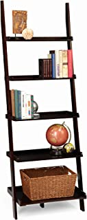 Convenience Concepts American Heritage Bookshelf Ladder, Espresso
