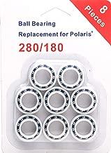 ATIE 8 Pack Wheel Bearings Replacement for Polaris 180/280 Pool Cleaner Part C-60 C60