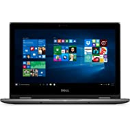 "Dell i5368-0502GRY 13.3"" FHD 2-in-1 Laptop (Intel Core i3-6100U 2.3GHz Processor, 4 GB RAM, 500..."
