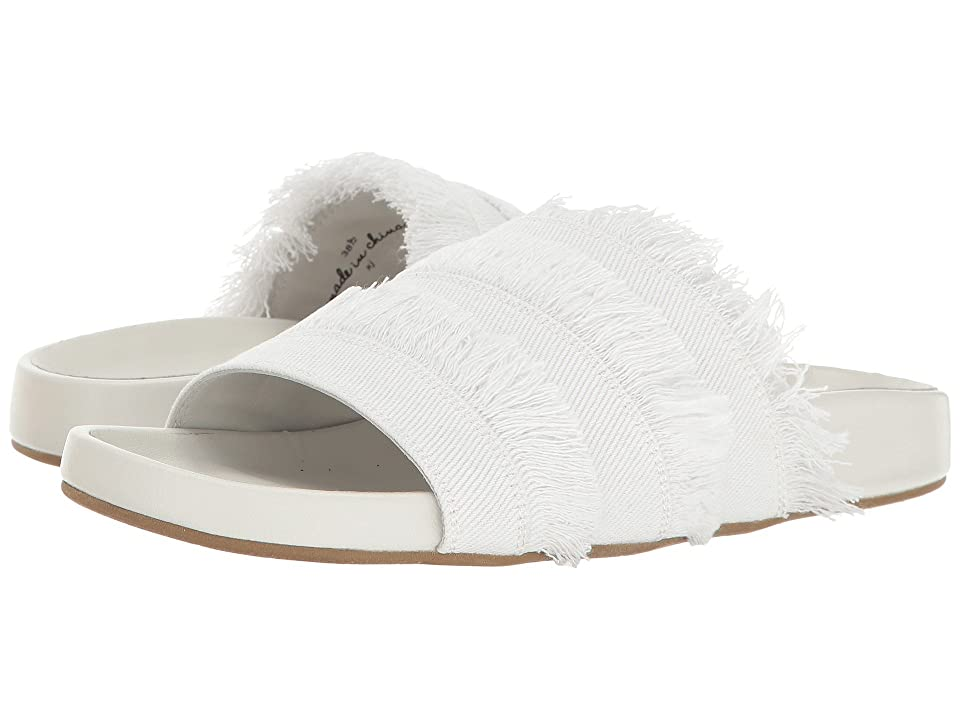 Joie Jaden (White Denim Frayed Edge) Women