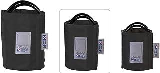 MDF® Adulto grande - Doble tubo - Anilla en D Manguito sin látex para presión arterial - Negro (MDF2080460D-11)