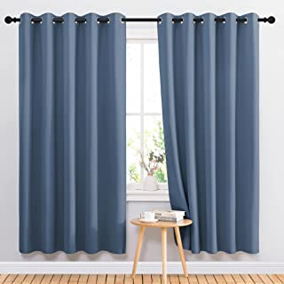 NICETOWN Blackout Curtain Drapes for Living Room -...