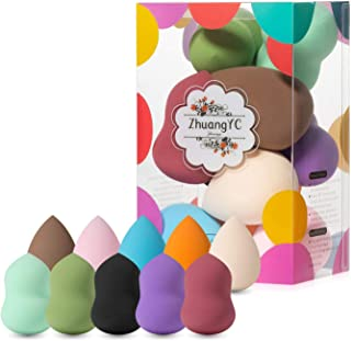 10 Pack Makeup Blenders Foundation Blending Sponges, Cosmetic Tools (1 Pc)